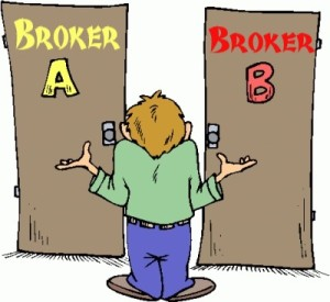 picking a stock broker
