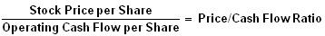 price-to-cash-flow-ratio