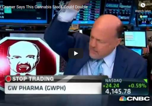 Jim Cramer Says This Cannabis Stock Could Double